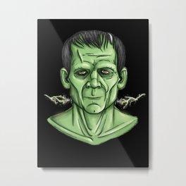 Frankenstein's Monster Metal Print