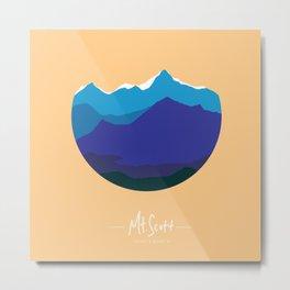 Mount Scott (explore Oklahoma series) Metal Print
