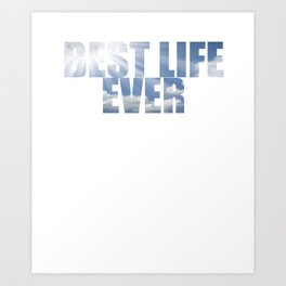 Best Life Ever JW 2018 Gift print Supplies Art Print