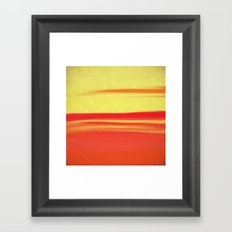 Skies The Limit VII Framed Art Print