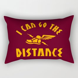 I Can Go The Distance Rectangular Pillow