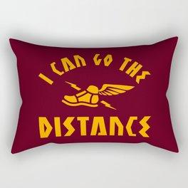 I Can Go The Distance Rectangular Pillow