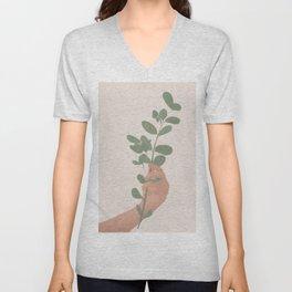 Tree Branch Unisex V-Neck