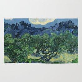 Olive Trees by Vincent van Gogh Rug