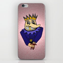 The Boognish wielding a voodoo lady doll iPhone Skin
