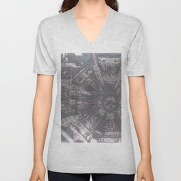 CERN: The Large Hadron Collider: A Love Story Unisex V-Neck