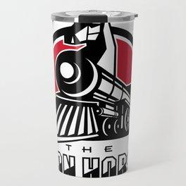 The Iron Horse Retro Travel Mug