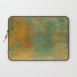 Copper and Turquoise Laptop Sleeve