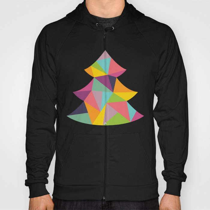 Colourful Christmas Tree Hoody
