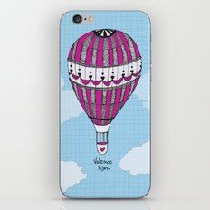 Hot Air Balloon, Spanish iPhone & iPod Skin