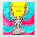 Watercolor Art | Christmas Reindeer by coloringiship