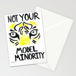 Not Your Model Minority Stationery Cards