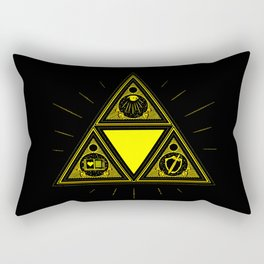 Light Of Triangle Rectangular Pillow
