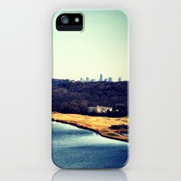 Austin In The Distance iPhone Case