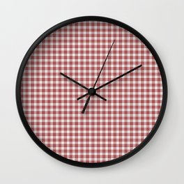 Buchanan Tartan Wall Clock