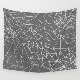 Neurons Dark/Light Grey Wall Tapestry