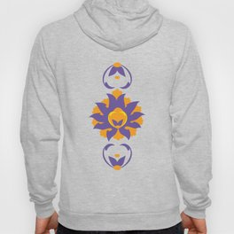 Islamic Illumination purple and orange palette Hoody