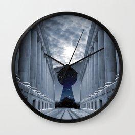 Keyhole to Infinity Wall Clock