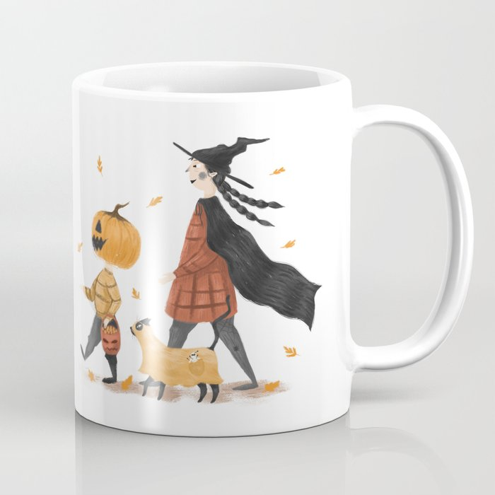 Happy Halloween Coffee Mug By Bocandraw Society6