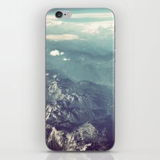 Aerial View of the French Alps iPhone & iPod Skin