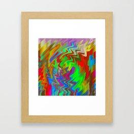 Greenfire Framed Art Print