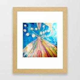 Let it flow let it go bring it on! Framed Art Print