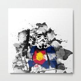 "Colorado ""State Trooper""  Metal Print"