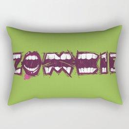 Zombie bites Rectangular Pillow