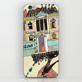 THE GIRL'S HAT iPhone Skin