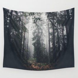 Dark paths Wall Tapestry