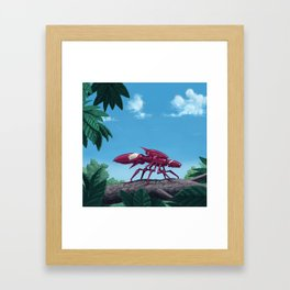 Aggressor Insectron Framed Art Print