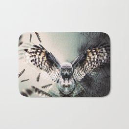 Duality Owl Bath Mat