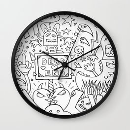 Dead End Don't Necessary Mean The End Wall Clock