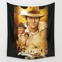 stiles Wall Tapestries featuring Big Adventure by Sova