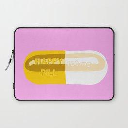Happy Pill Pink Laptop Sleeve