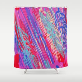 WEATHERING DOWN Shower Curtain