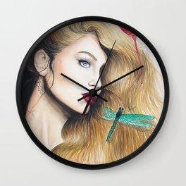 Time (close up) Wall Clock