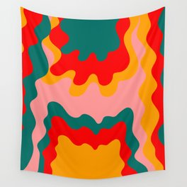 Hippie Rainbow Wall Tapestry