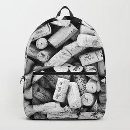Something Nostalgic II Twist-off Wine Corks in Black And White #decor #society6 #buyart Backpack