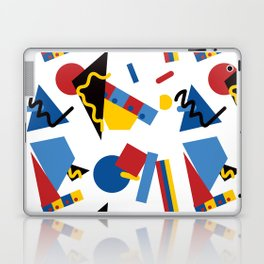 Postmodern Primary Color Party Decorations Laptop & iPad Skin