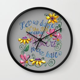 Let Us Dance Two Wall Clock