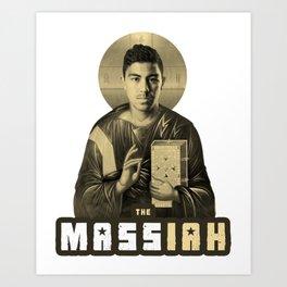 The MASSiah Art Print