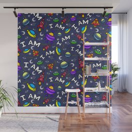 I Am Spaceless Wall Mural