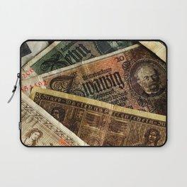 Old German money Altes Deutsches Geld Laptop Sleeve