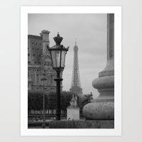 Paris dreaming Art Print
