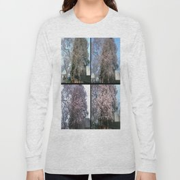 Tree Blossoms Long Sleeve T-shirt