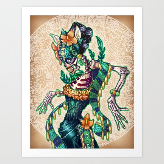 Dance of the Dead Art Print