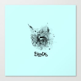 Billy Cats Canvas Print
