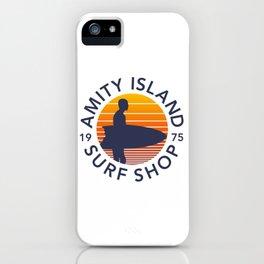 Amity Island Surf Shop iPhone Case