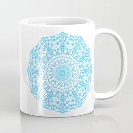 Mandala 12 / 4 eden spirit light blue turquoise Coffee Mug